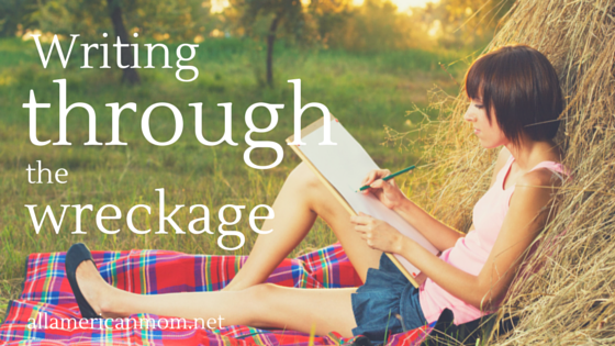 Writing Through the Wreckage, Miscarriage, grief, pregnancy loss, Sarah Philpott, mourning