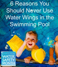 6 Reasons You Should Never Use Water Wings In The Swimming Pool Sarah Philpott