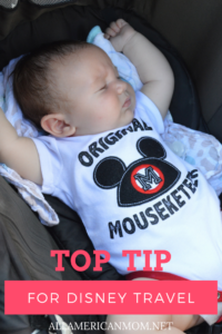 stroller, Disney World, tips, Sarah Philpott, allamericanmom.net