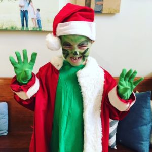 Read Across America, the Grinch